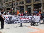 marcha del 6 de marzo en Bogotá contra los crimenes de estado