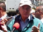 senador Jorge Robledo en marcha del 6 de marzo en Bogotá