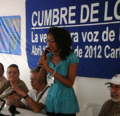 Sandra Taborda Mesa Ampliada de Estudiantes. Foto ANTHOC Bolívar