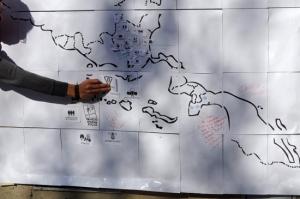 Taller sobre el mapeo de conflictos y resistencias populares a la recolonización en el continente.